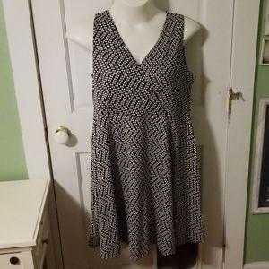 Black & White Lane Bryant dress